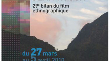 Affiche Festival Jean Rouch 2010
